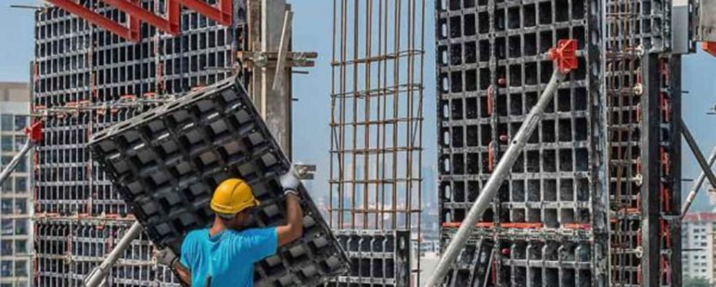 Erection of Formwork